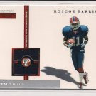2005 TOPPS PRISTINE ROSCOE PARRISH BILLS ROOKIE JERSEY CARD