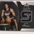 2005-06 UPPER DECK SWEET SHOT WAYNE SIMIEN HEAT JERSEY CARD #'D 227/250!