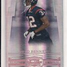 2007 DONRUSS THREADS FRED BENNETT TEXANS ROOKIE CARD #'D 097/250!