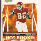 2007 SCORE DWAYNE BOWE CHIEFS HOT ROOKIE CARD