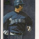 1998 PINNACLE RAUL IBANEZ MARINERS ROOKIE CARD
