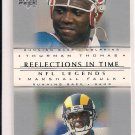 2000 UPPER DECK LEGENDS THURMAN THOMAS - MARSHALL FAULK REFLECTIONS IN TIME CARD