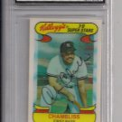 1978 KELLOGG'S CHRIS CHAMBLISS YANKEES 3-D SUPERSTARS CARD GRADED FGS 10!