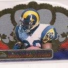 1999 CROWN ROYALE MARSHAL FAULK RAMS CARD