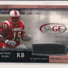 2007 SAGE MICHAEL BUSH ROOKIE BRONZE AUTO CARD #'D 71/75!
