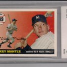 2006 TOPPS MICKEY MANTLE HOME RUN HISTORY CARD GRADED BCCG 10!
