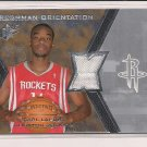2007-08 SPX CARL LANDRY HOUSTON FRESHMAN ORIENTATION JERSEY CARD