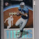 2003 TOPPS PRISTINE CHRIS BROWN TITANS UNCIRCULATED REFRACTOR