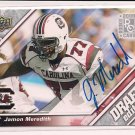 2009 UPPER DECK JAMON MEREDITH GIANTS AUTO ROOKIE CARD