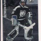 2002-03 KEVIN HODSON LIGHTNING BETWEEN THE PIPES SILVER CARD #'D 21/100!