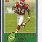 LARRY JOHNSON CHIEFS 2003 TOPPS ROOKIE CARD