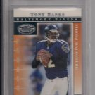 TONY BANKS RAVENS 2000 DONRUSS PREFERRED GRADED 1 OF 1125