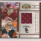 CARSON PALMER 2007 DONRUSS PLAYER TIMELINE JERSEY CARD