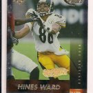 HINES WARD STEELERS 1999 EDGE FURY GOLD INGOT PARALLEL