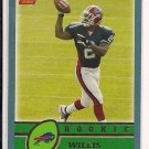 WILLIS MCGAHEE BILLS 2003 TOPPS ROOKIE CARD