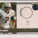 TOBY GERHERT VIKINGS/STANFORD 2010 PRESS PASS GAME DAY GEAR JERSEY CARD