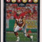 TONY GONZALEZ CHIEFS/FALCONS 2008 TOPPS CHROME REFRACTOR CARD