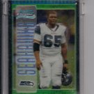 CHRIS SPENCER SEAHAWKS 2005 BOWMAN CHROME UNCIRCULATED GREEN REFRACTOR #'D 312/399!