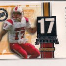 STEFAN LEFORS CARDINALS 2005 PRESS PASS GAME USED JERSEY #'D 329/700!