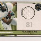 DANARIO ALEXANDER TIGERS/RAMS 2010 PRESS PASS ROOKIE JERSEY CARD #'D 149/199!