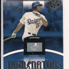 SHAWN GREEN DODGERS 2001 DONRUSS CLASS OF 2001 DOMINATORS CARD