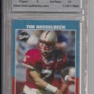 TIM HASSELBECK BILLS 2001 UPPER DECK VINTAGE ROOKIE GRADED TFA 9!