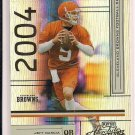 JEFF GARCIA BROWNS 2004 PLAYOFF ABSOLUTE BASE CARD #'D 1022/1150!