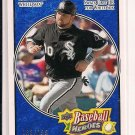 NICK SWISHER WHITE SOX 2008 UPPER DECK BASEBALL HEROES CARD #'D 163/199!