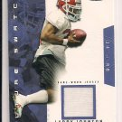 LARRY JOHNSON CHIEFS 2003 FLEER FUTURE SWATCH ROOKIE JERSEY #'D 098/750!