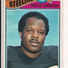 REGGIE HARRISON STEELERS 1977 TOPPS CARD