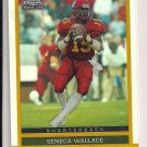 SENECA WALLACE 2003 TOPPS CHROME ROOKIE REFRACTOR CARD