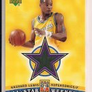 RASHARD LEWIS SUPERSONICS 2004 UPPER DECK ALL STAR WEEKEND WARM-UP CARD