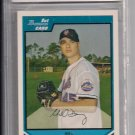 MIKE DEVANEY METS 2007 BOWMAN PROSPECTS ROOKIE CARD GRADED BCCG 10!