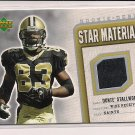 DONTE STALLWORTH 2006 UPPER DECK ROOKIE DEBUT STAR MATERIALS JERSEY