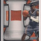 GERALD WALLACE BOBCATS 2010 PANINI CERTIFEID FABRIC OF THE GAME WORN SWATCH