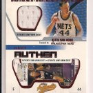 KEITH VAN HORN 76'ERS 2002-03 FLEER JERSEY AUTHENTIX