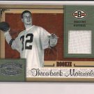 CHARLIE FRYE BROWNS 2005 DONRUSS THROWBACK THREADS ROOKIE JERSEY