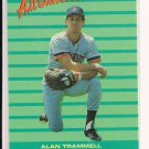 ALAN TRAMMEL TIGERS 1988 FLEER ALL STAR TEAM CARD