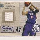 DONYELL MARSHALL RAPTORS 2005-06 UPPER DECK ROOKIE DEBUT THREADS JERSEY CARD