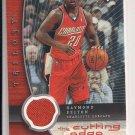 RAYMOND FELTON BOBCATS 2005-06 UPPER DECK TRILOGY CUTTING EDGE JERSEY CARD