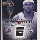 JALEN ROSE 2005 UPPER DECK SPORTCENTER SWATCHES JERSEY CARD