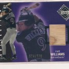 MATT WILLIAMS DIAMONDBACKS 2002 DIAMOND COLLECTION BAT CARD