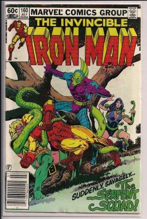 THE INVINCIBLE IRON MAN #160 (1982)