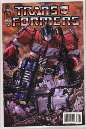 TRANSFORMERS #0 (2005) OPTIMUS PRIME COVER-NEVER READ!