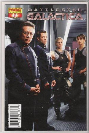 BATTLESTAR GALACTICA #1d PHOTO COVER (2006)-NEVER READ!