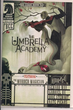 UMBRELLA ACADEMY 2007 FREE COMIC BOOK DAY ISSUE-NEVER READ!