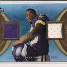 TROY WILLIAMSON VIKINGS 2007 UPPER DECK ARTIFACTS DUAL MEMORABILIA CARD