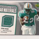 DEREK HAGAN DOLPHINS 2006 UD FUTURE STAR MATERIALS JERSEY CARD