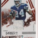MARION BARBER 2009 DONRUSS R&S LONGEVITY JERSEY CARD #'D 174/299!