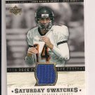 DEREK ANDERSON 2005 UD SATURDAY SWATCHES JERSEY CARD